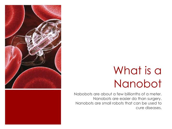What is a nanobot