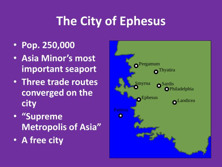 The City of Ephesus