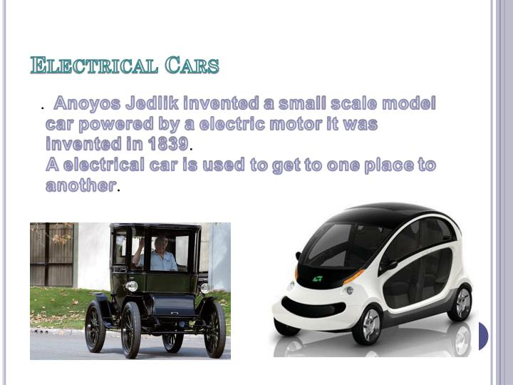 Electrical Cars