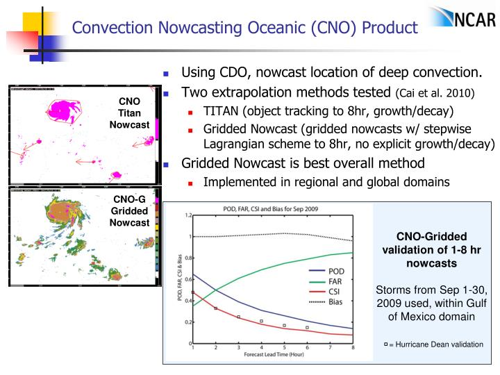 Convection Nowcasting Oceanic (CNO) Product