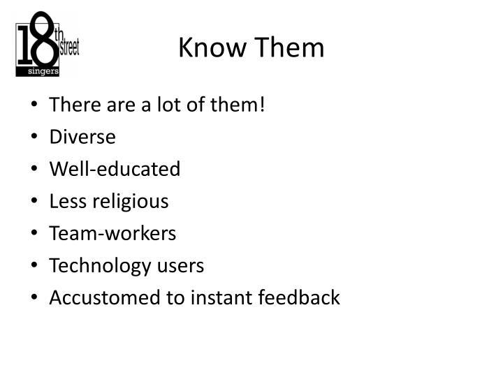 Know Them