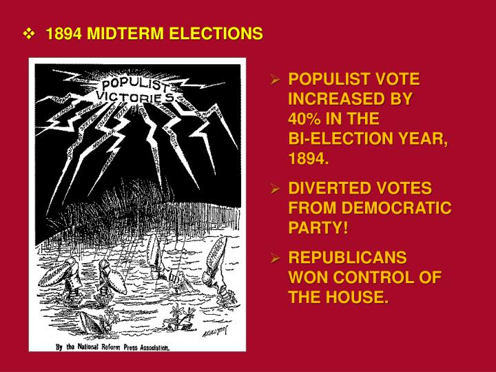 1894 MIDTERM ELECTIONS