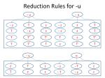 reduction rules for u3