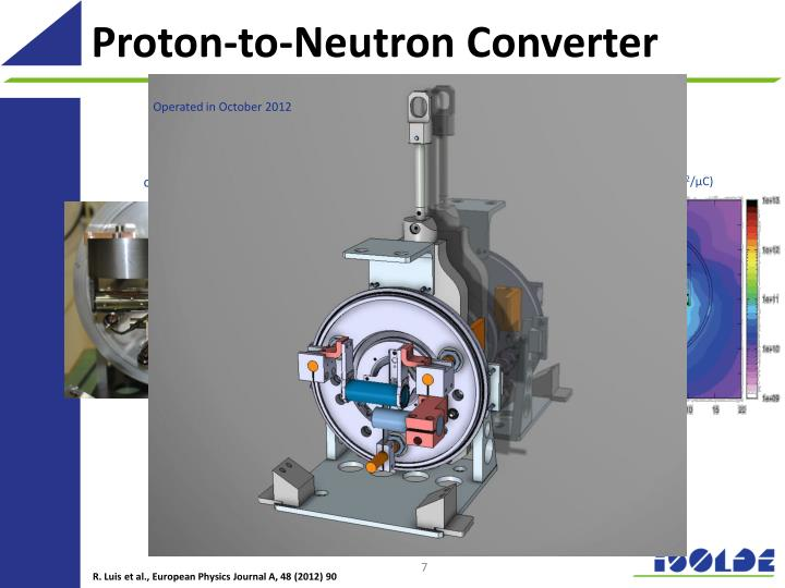 Proton-to-Neutron Converter