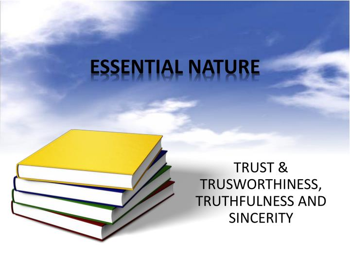 essential nature