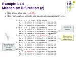example 3 7 5 mechanism bifurcation 2