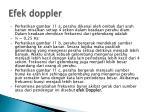 efek doppler1