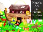noah s ark a picture of jesus