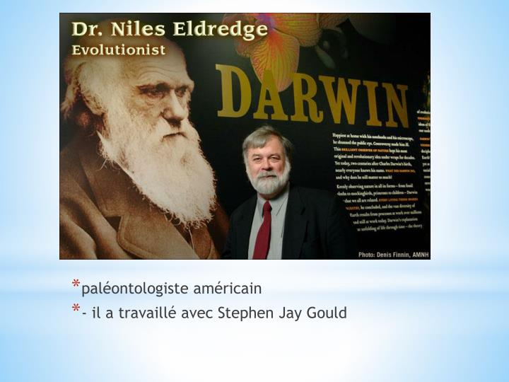 paléontologiste américain