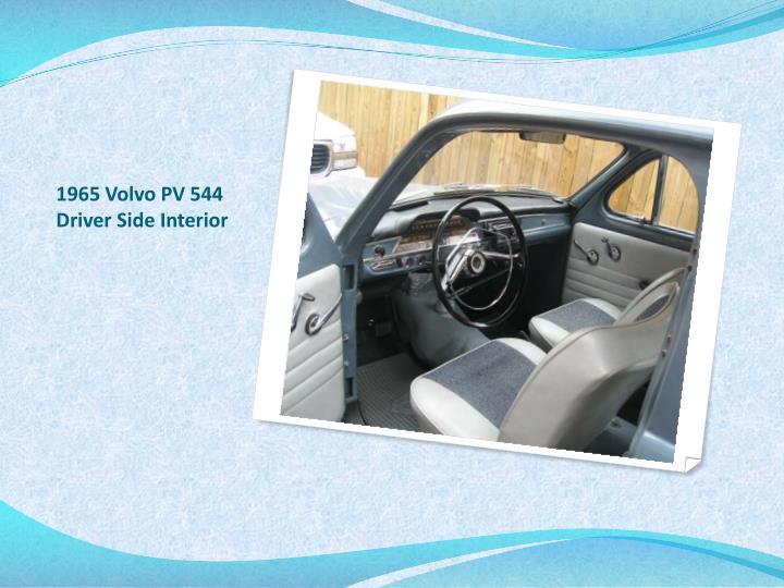 1965 Volvo PV 544 Driver Side Interior