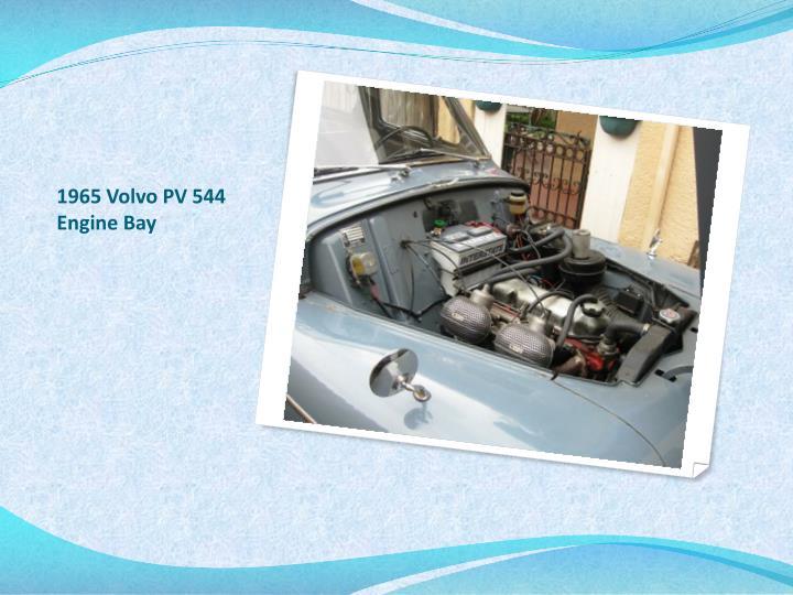 1965 Volvo PV 544 Engine Bay