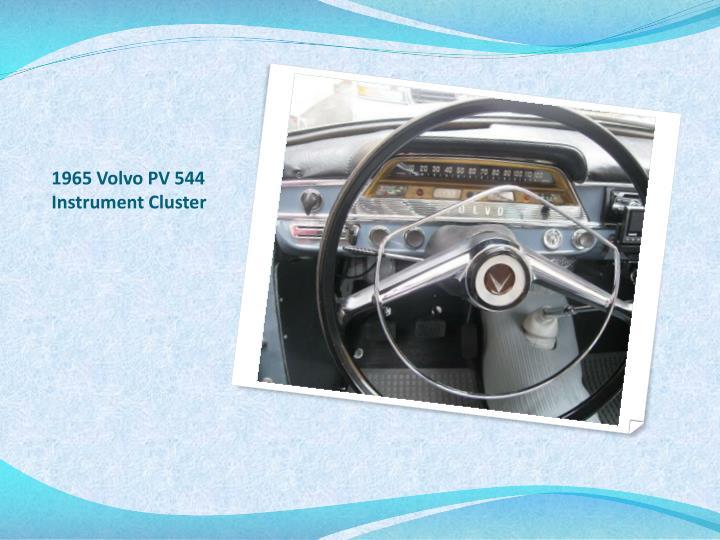 1965 Volvo PV 544 Instrument Cluster