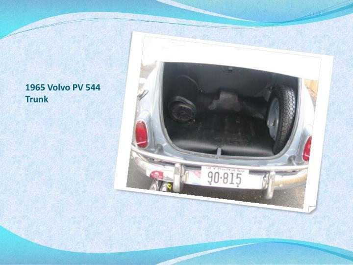 1965 Volvo PV 544 Trunk
