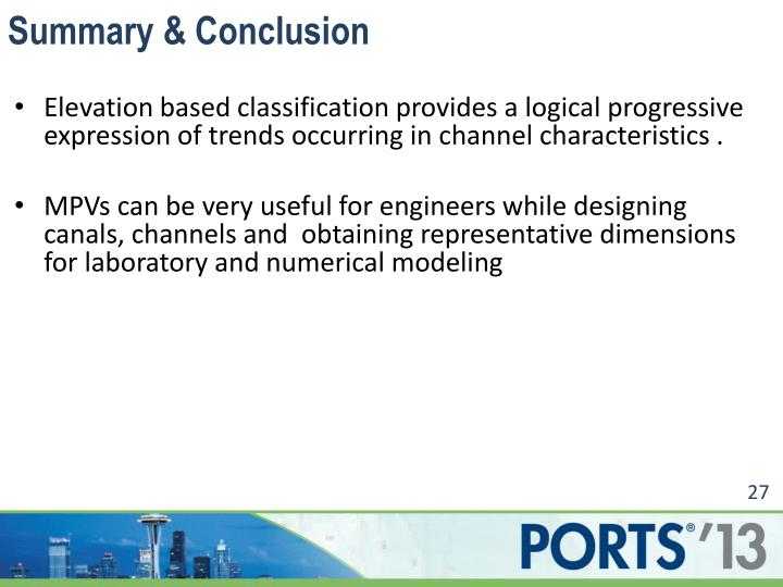Summary & Conclusion