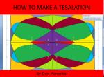 how to make a tesalation