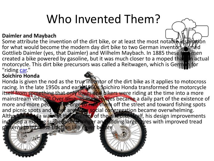 Who Invented Them?