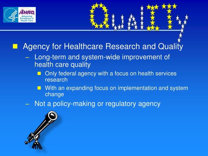 Agency for