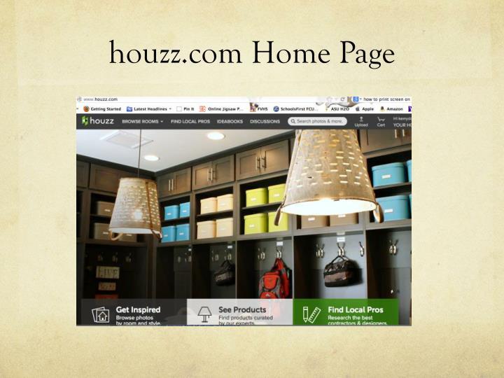 houzz.com Home Page