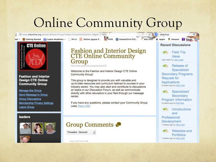 Online Community Group