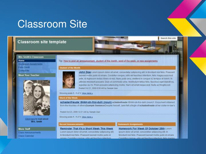 Classroom Site