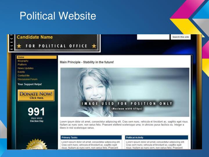 Political Website