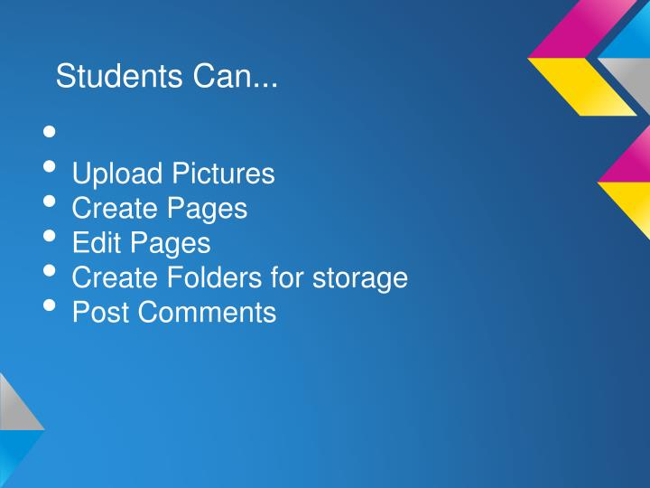 Students Can...