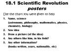 18 1 scientific revolution posters