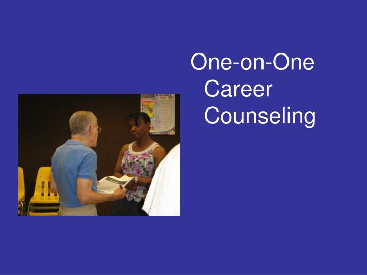 One-on-One Career Counseling