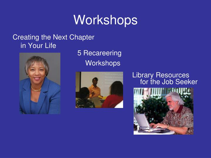 Library Resources for the Job Seeker