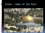 islam dome of the rock