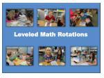 leveled math rotations