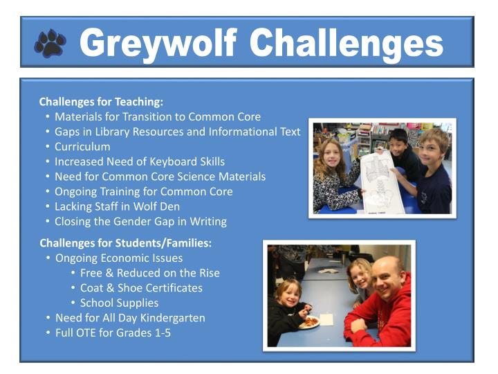 Greywolf Challenges