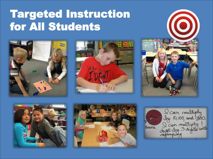 Targeted Instruction