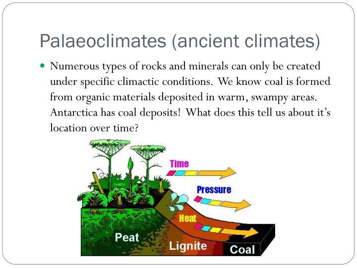 Palaeoclimates