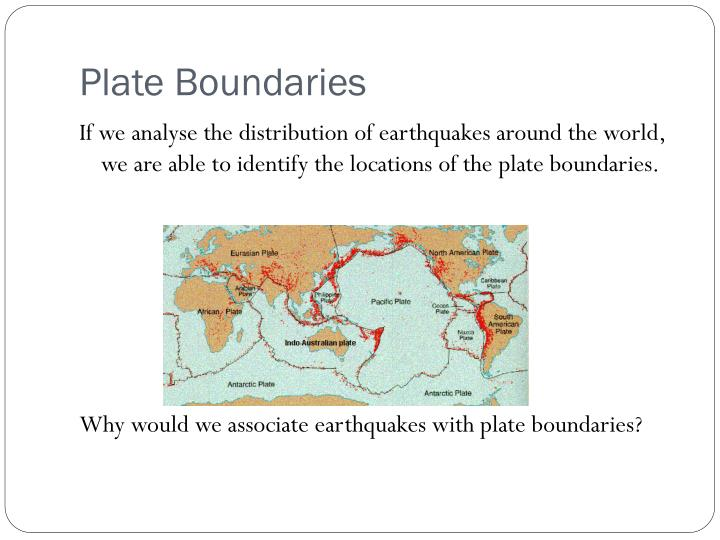 Plate Boundaries