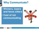 why communicate3
