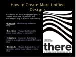 how to create more unified designs2