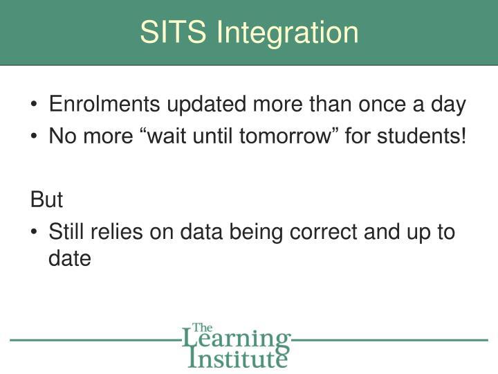 SITS Integration