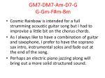 gm7 dm7 am d7 g g gm f m bm