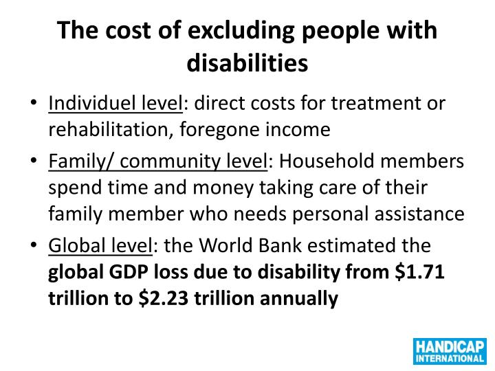 The cost of excluding people with disabilities