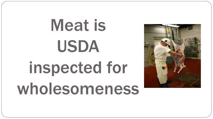Meat is