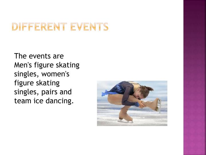 Different events