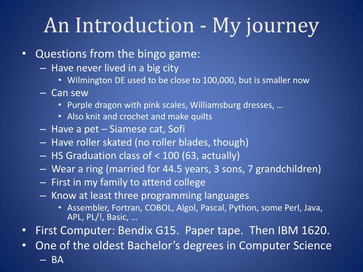 An Introduction -