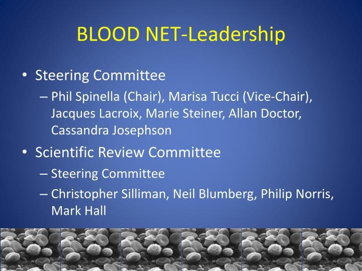 BLOOD NET-Leadership