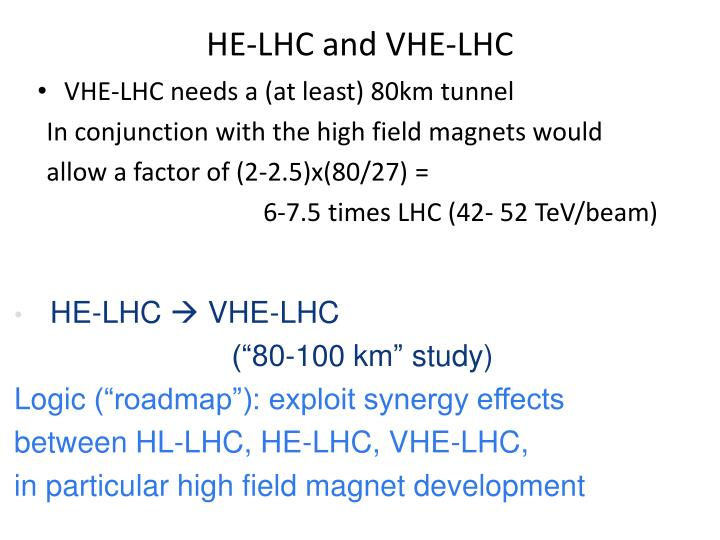 HE-LHC and