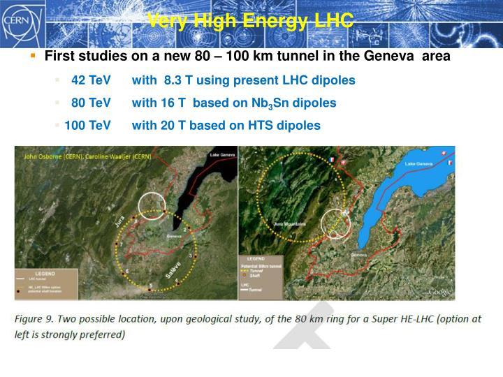 Very High Energy LHC