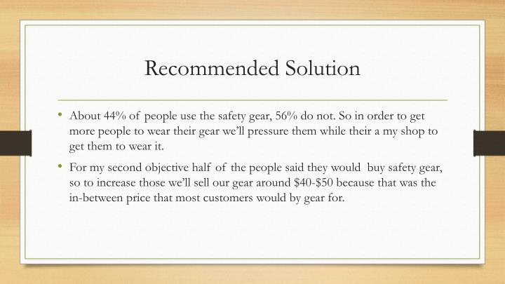 Recommended Solution