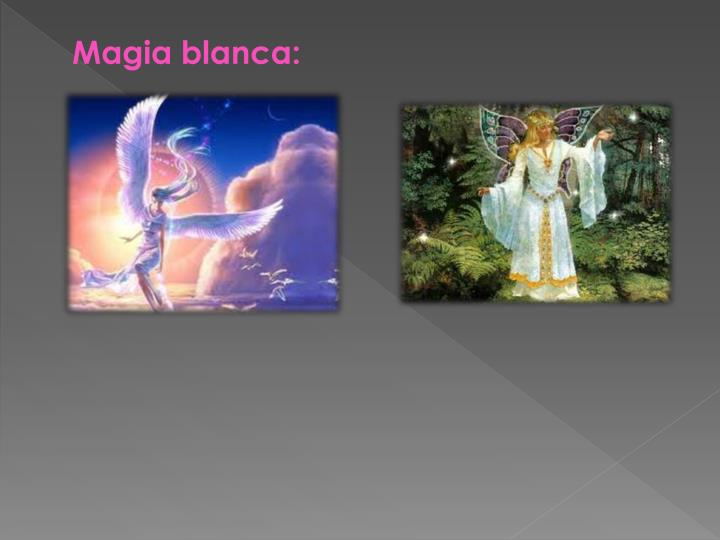 Magia blanca: