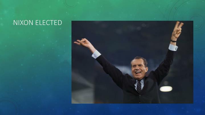 Nixon Elected