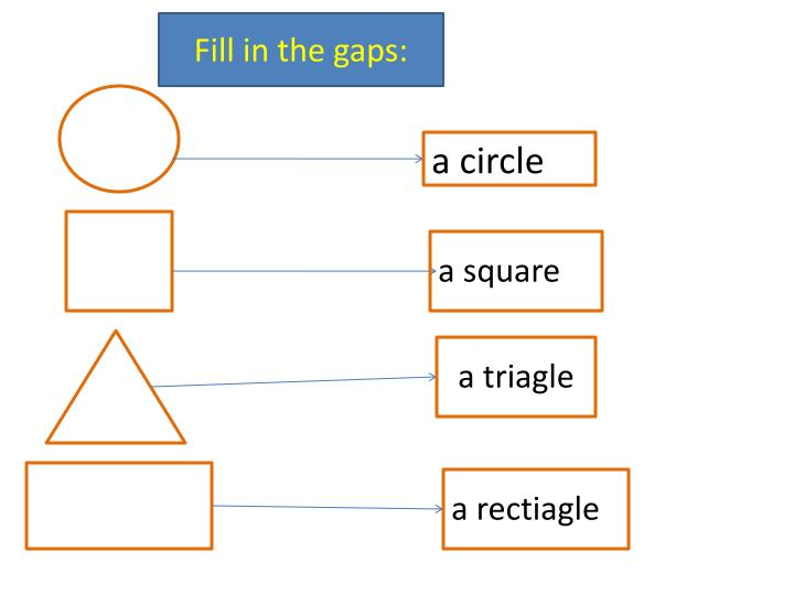 Fill in the gaps: